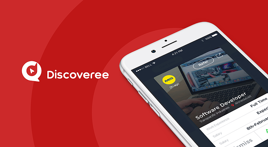 Discoveree — Mobile App For Recruiting