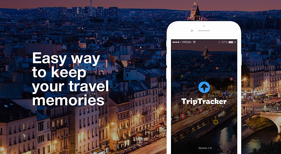 Trip Tracker — Travel Mobile App