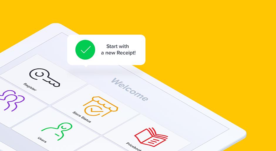 Boss Revolution — POS Terminal UI design