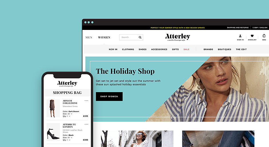 Atterley — E-commerce Fashion Retailer Platform