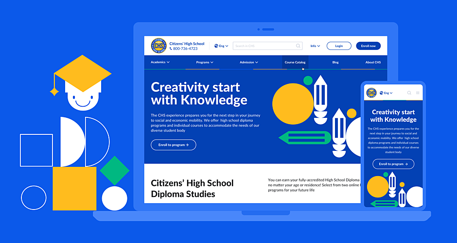 CHS — High School Website