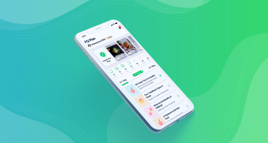 FQ—Health-minded Fitness App