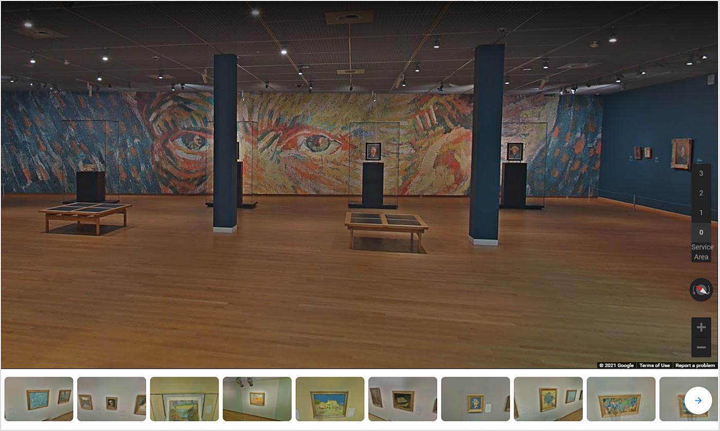 van gogh museum online