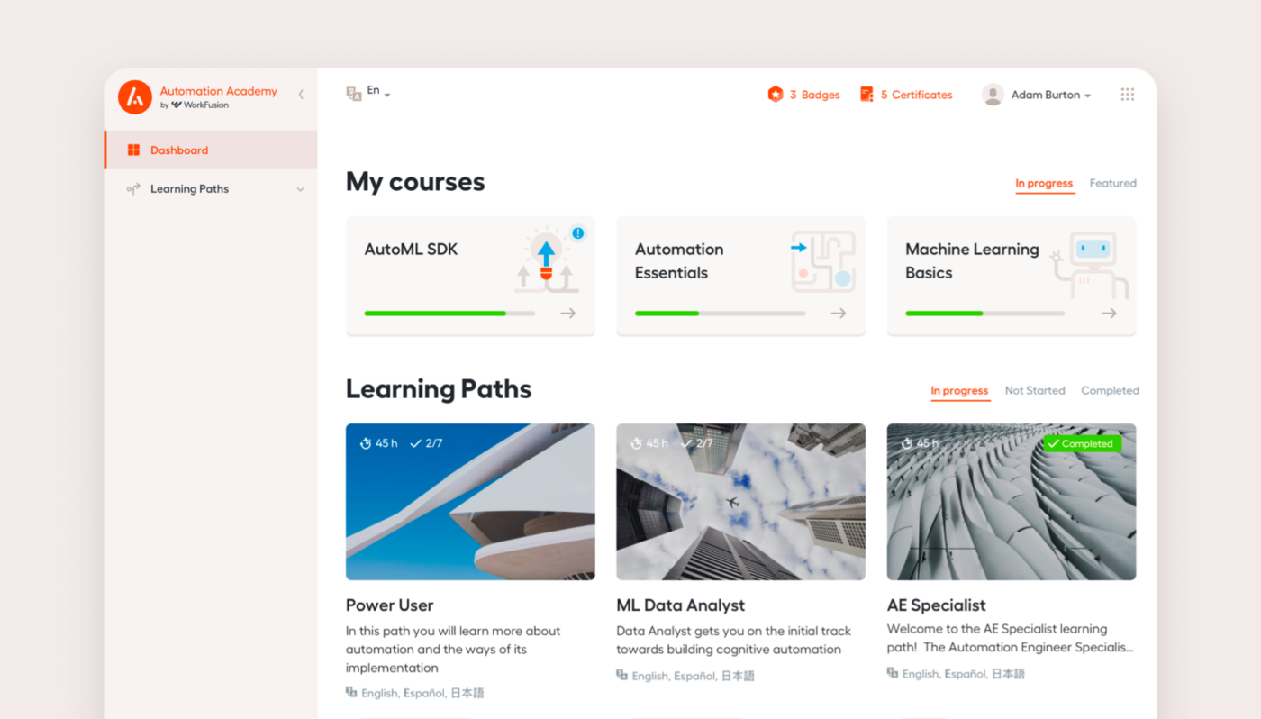 moodle based project by agente