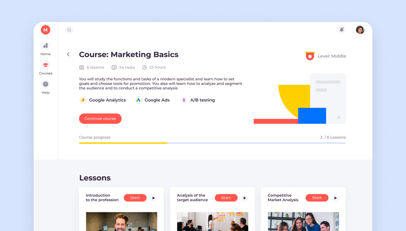 lms for marketing courses