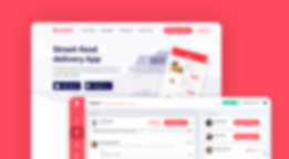 food ordering and delivery app design