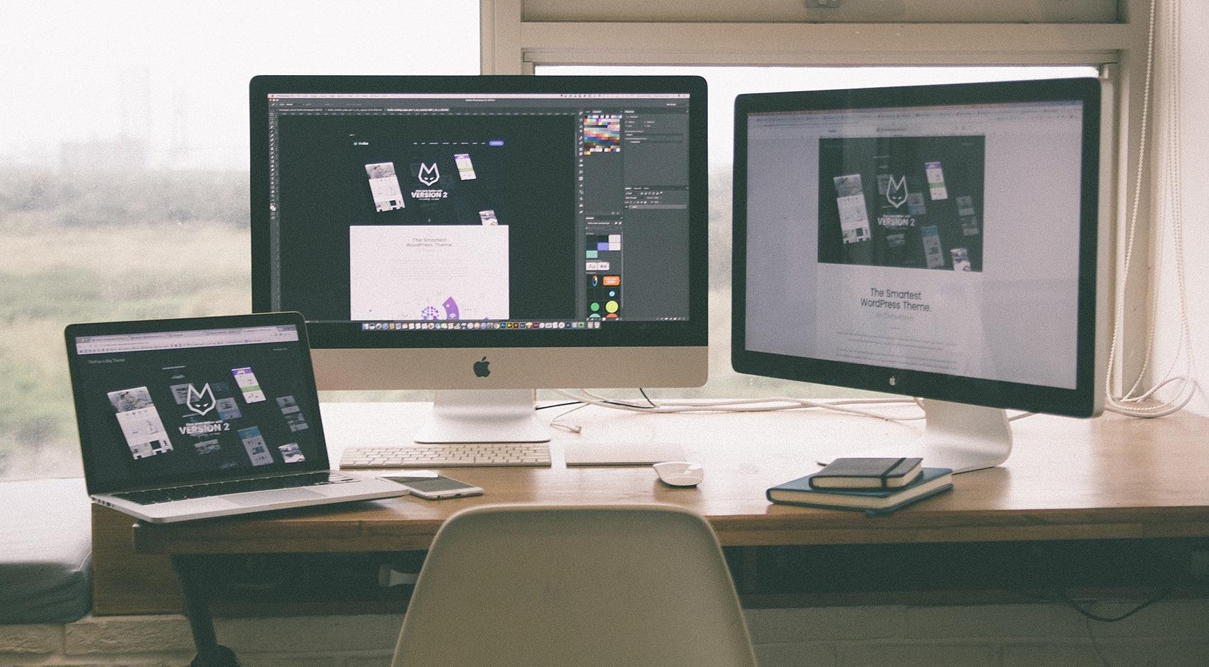 one-page website design