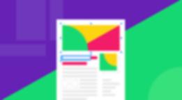 best examples blog design